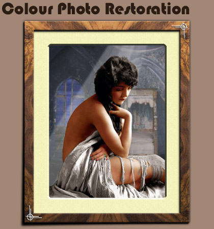 Colour Photo Restoration Wood Green N22