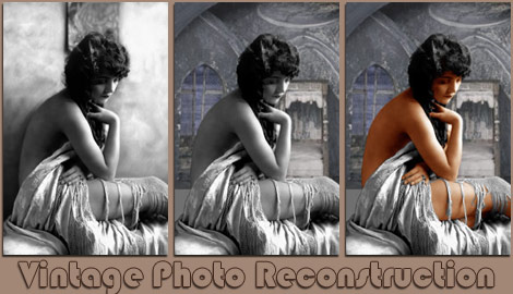 Bow E3 Vintage Photograph Restoration